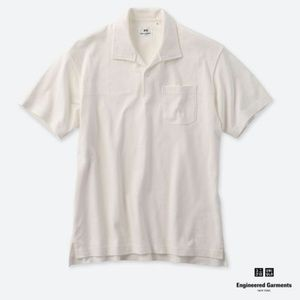 Uniqlo x Engineered Garments White Polo NEW